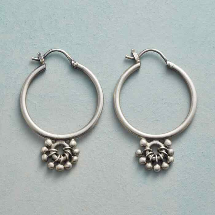 GLOBAL MINDSET HOOP EARRINGS