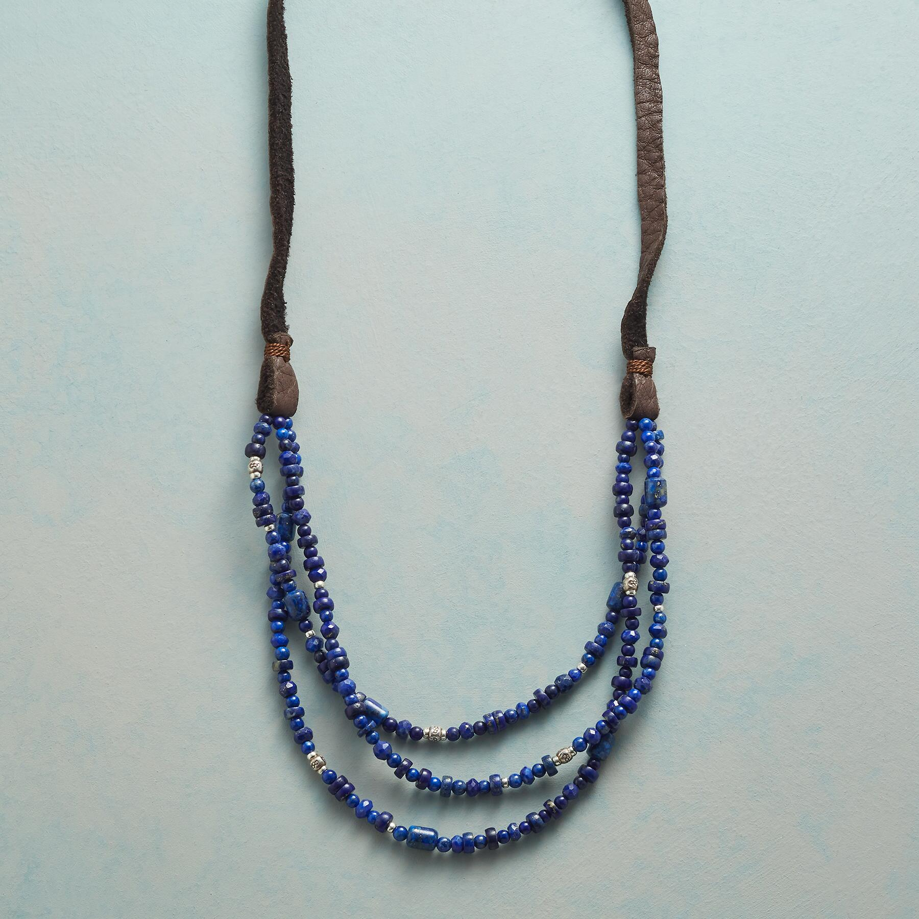 LAPIS OF LUXURY NECKLACE: View 1