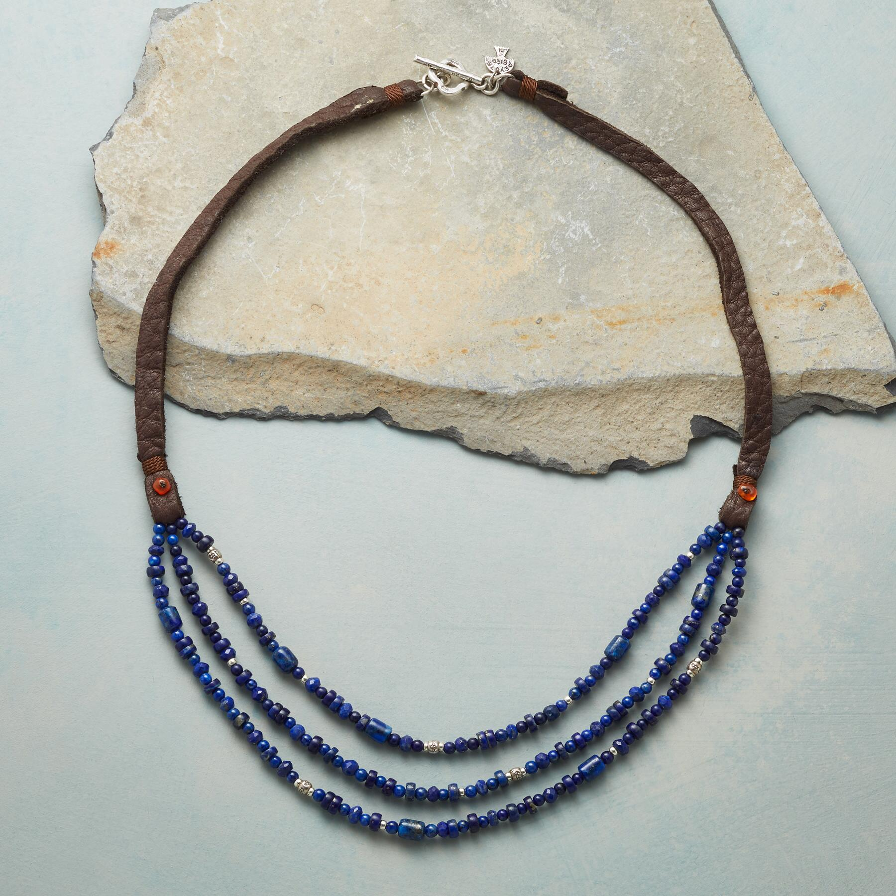 LAPIS OF LUXURY NECKLACE: View 2