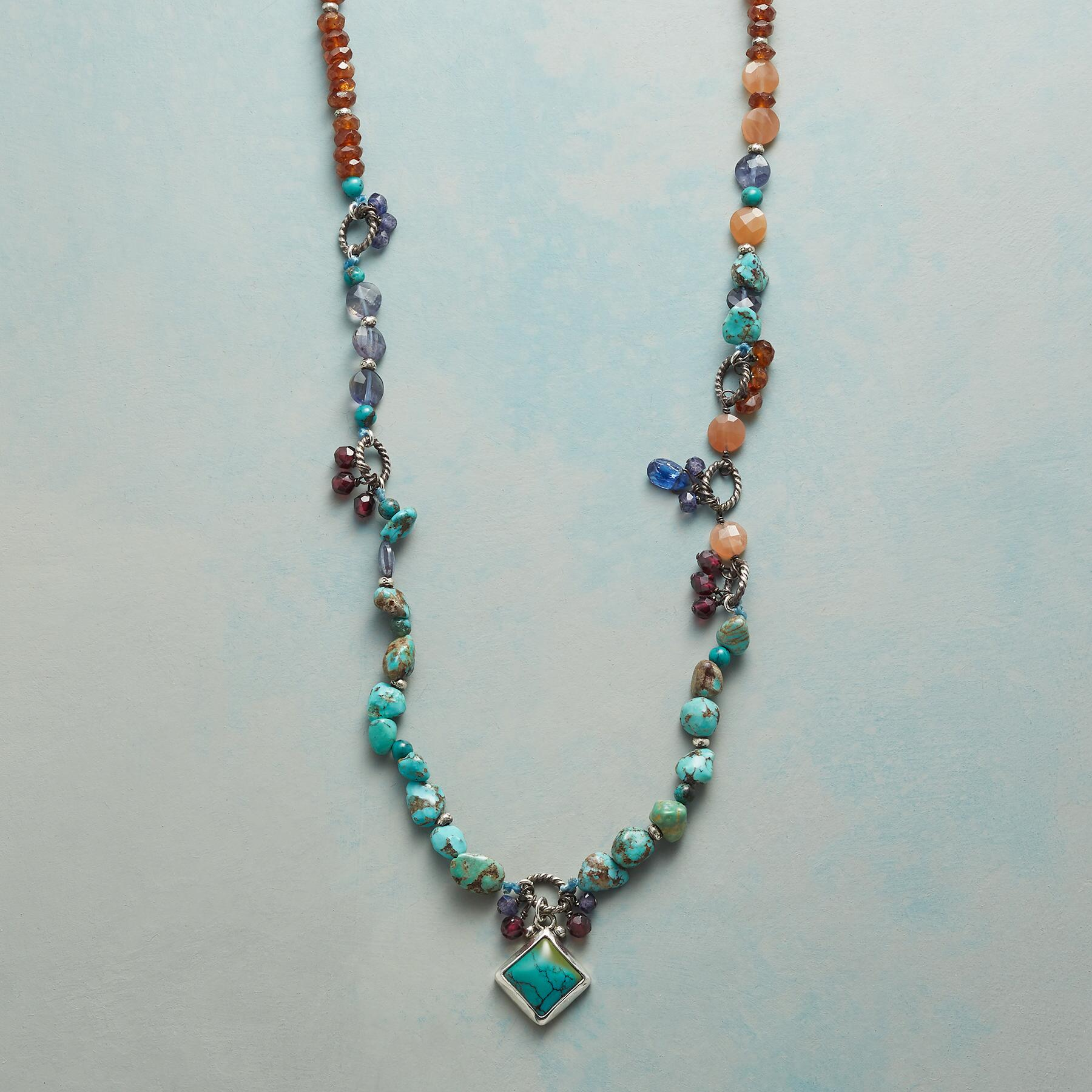 TURQUOISE BLISS NECKLACE: View 1