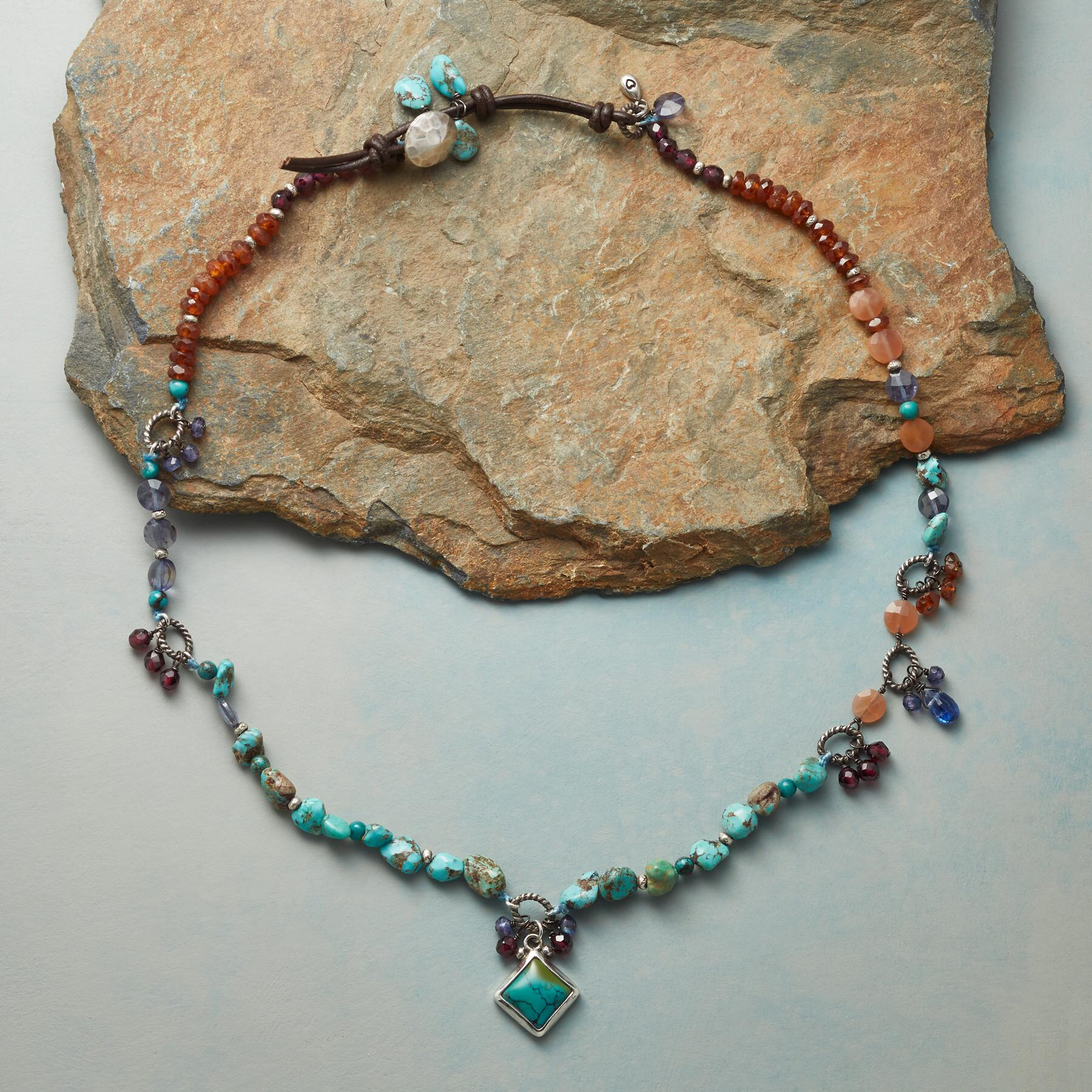 TURQUOISE BLISS NECKLACE: View 2