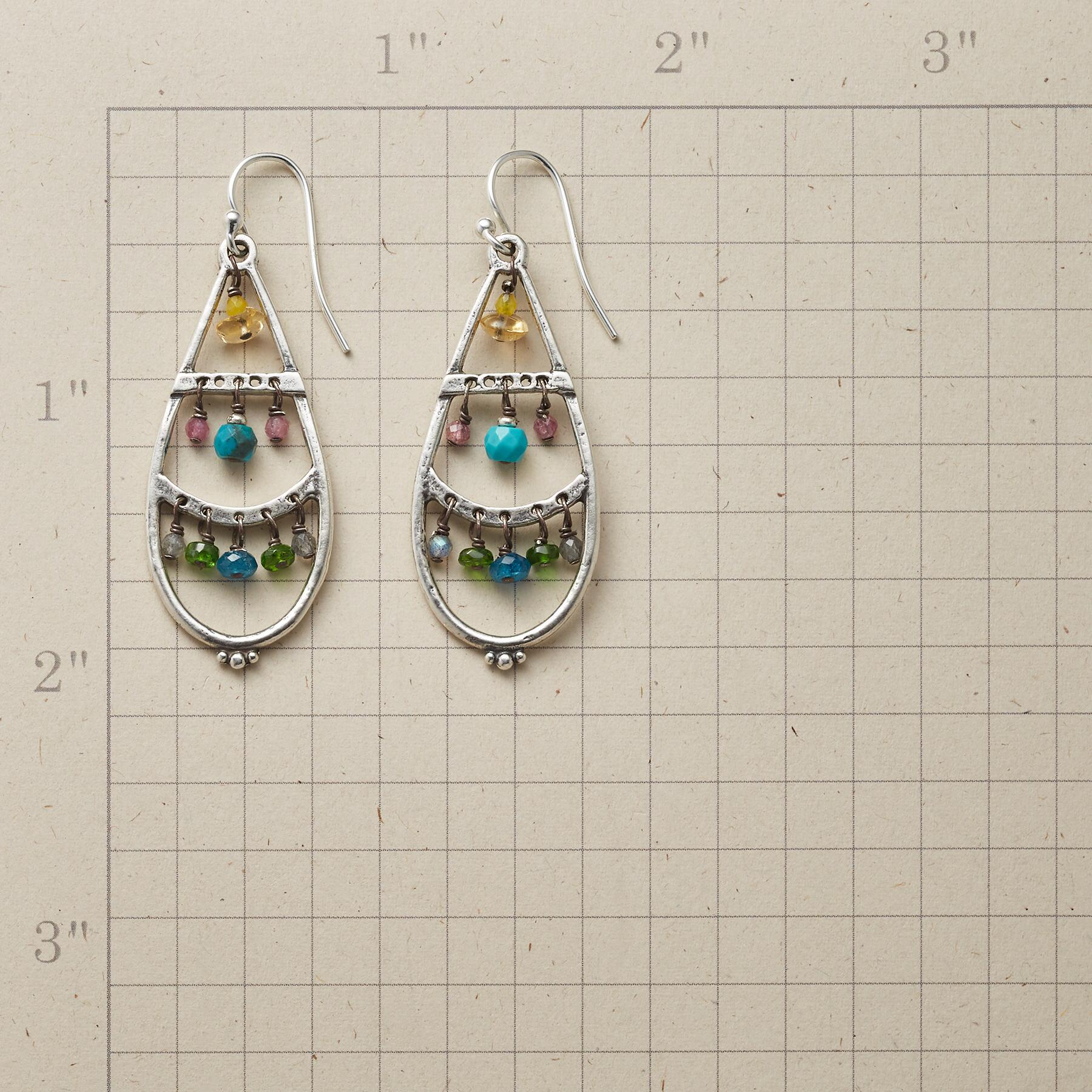 CLOISONNE EARRINGS: View 2