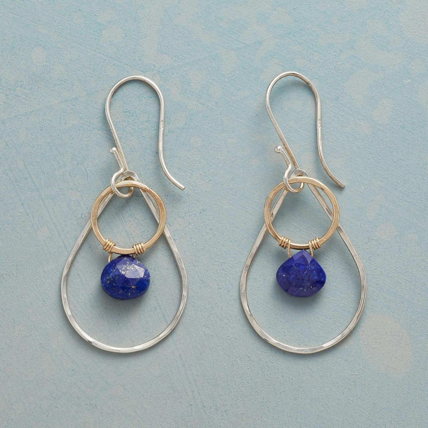 MELTING POINT EARRINGS: View 1