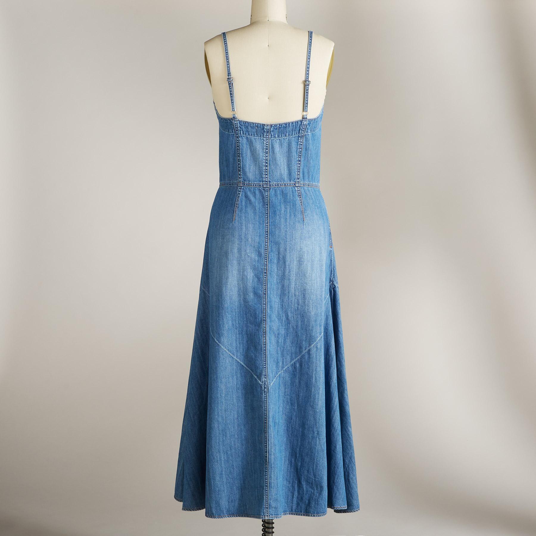 MARINA DENIM DRESS: View 2