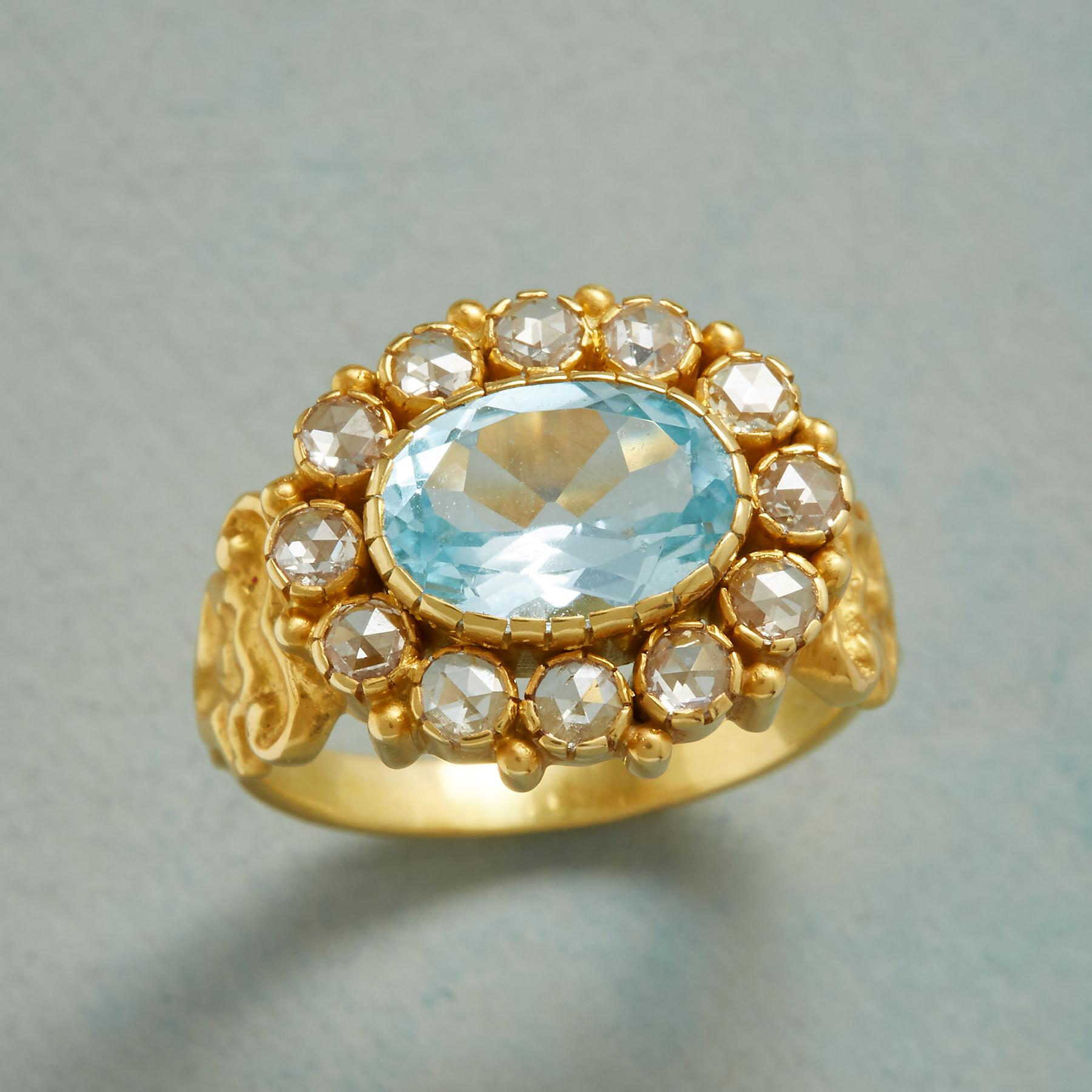 VICTORIANA TOPAZ RING: View 1