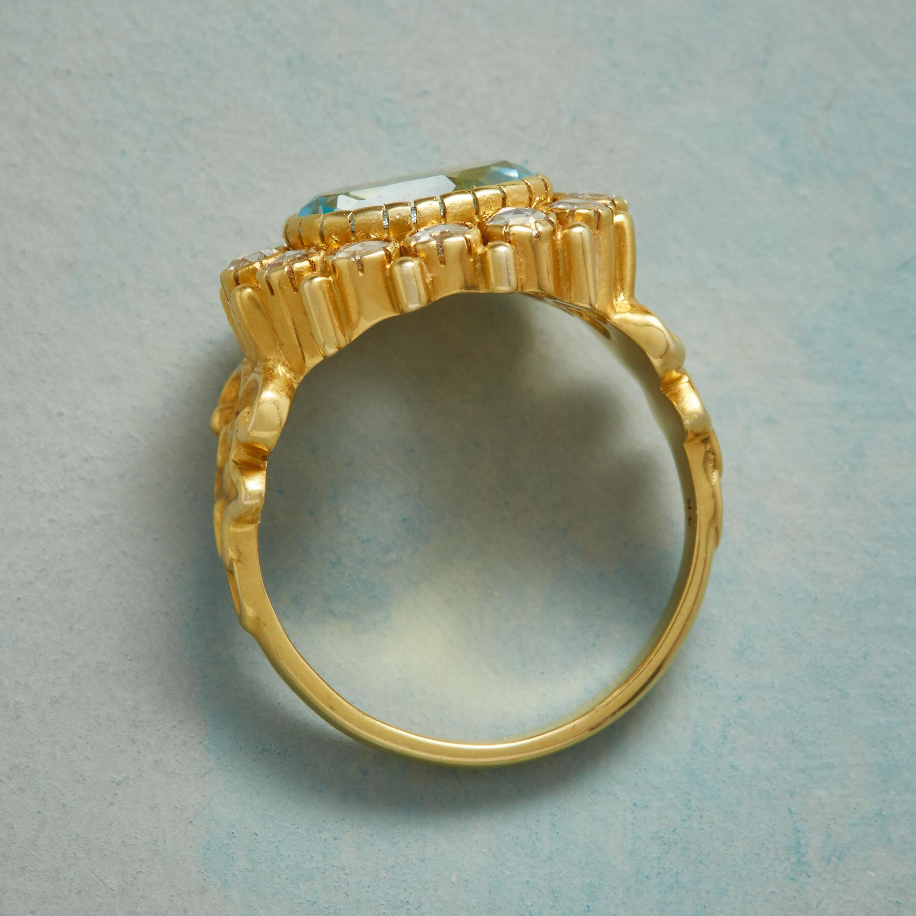 VICTORIANA TOPAZ RING: View 2