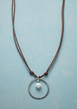 PLANETARY PEARL NECKLACE