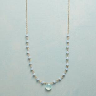 CHALCEDONY SKYLINE NECKLACE