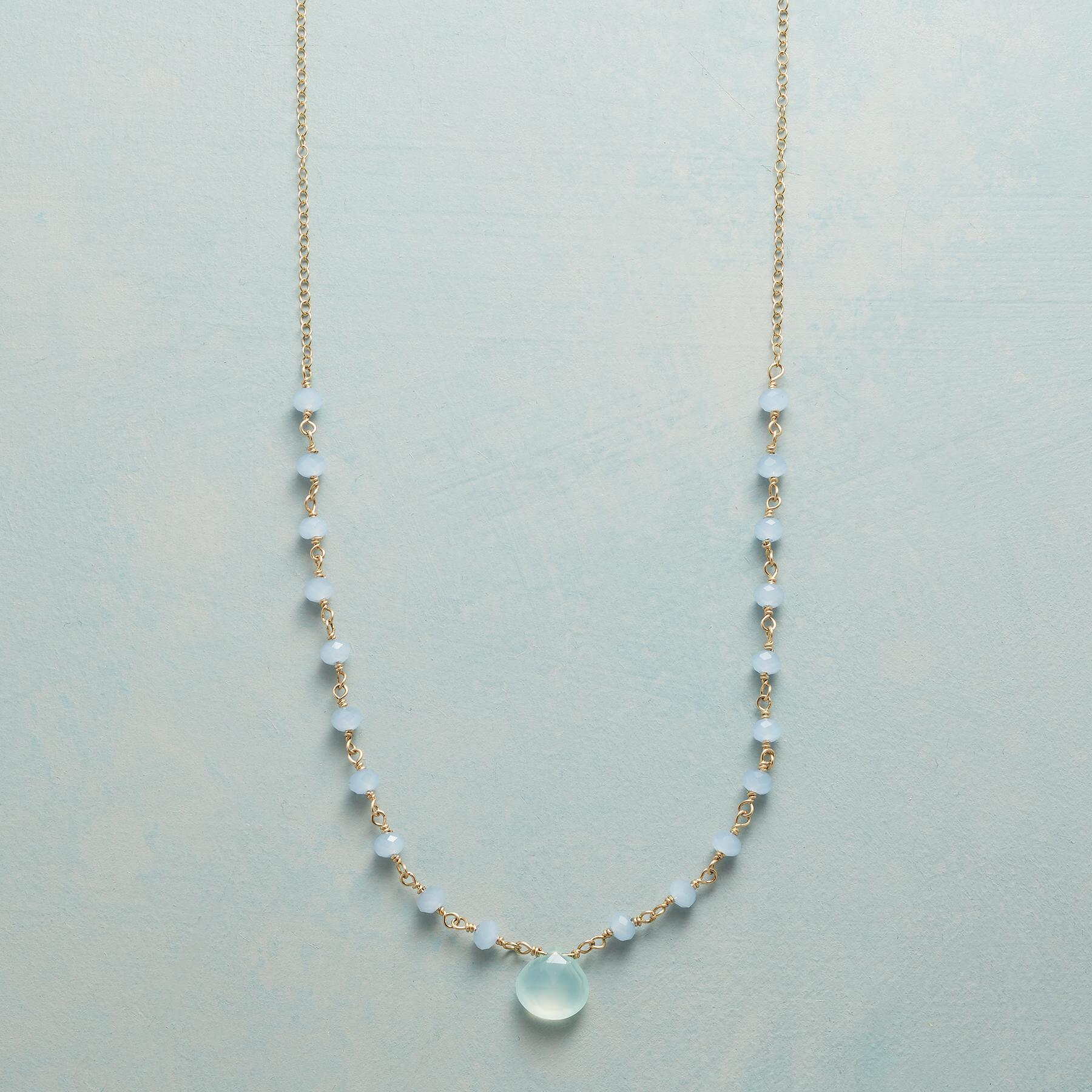 CHALCEDONY SKYLINE NECKLACE: View 1