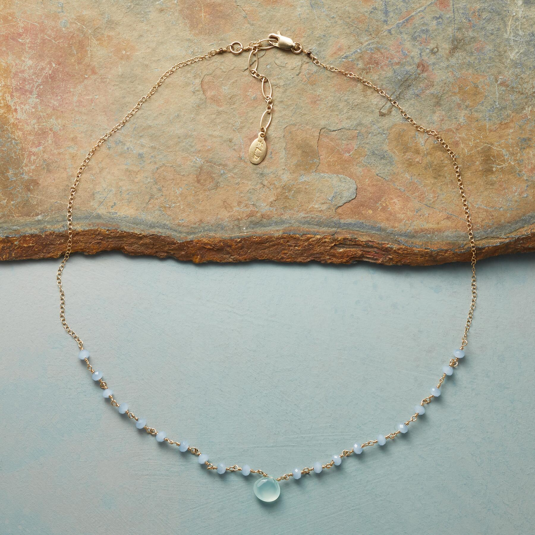 CHALCEDONY SKYLINE NECKLACE: View 2