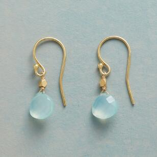 CHALCEDONY SKYLINE EARRINGS