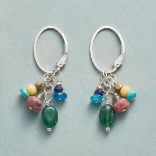 GARDEN HOOP EARRINGS