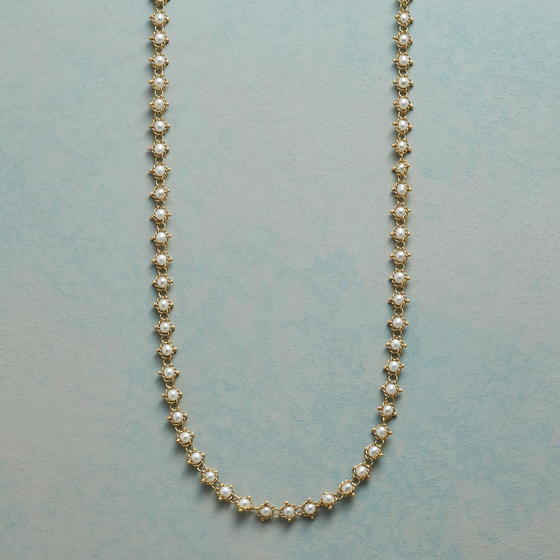 WEAVER'S PEARL NECKLACE: View 1