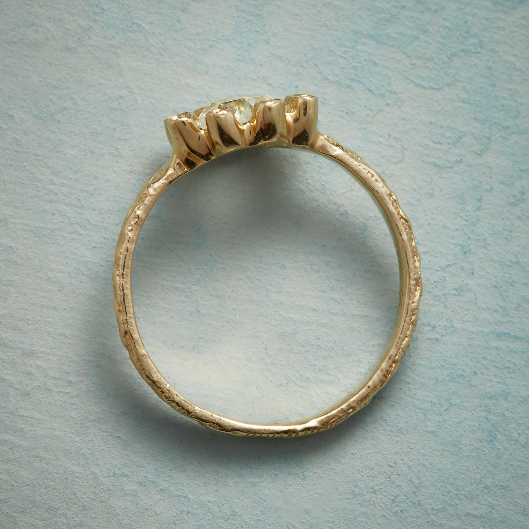 BLOSSOMING DIAMOND RING: View 2