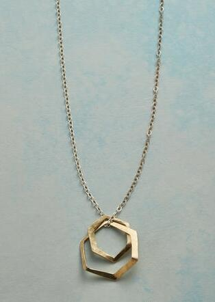 HEXAGONS NECKLACE