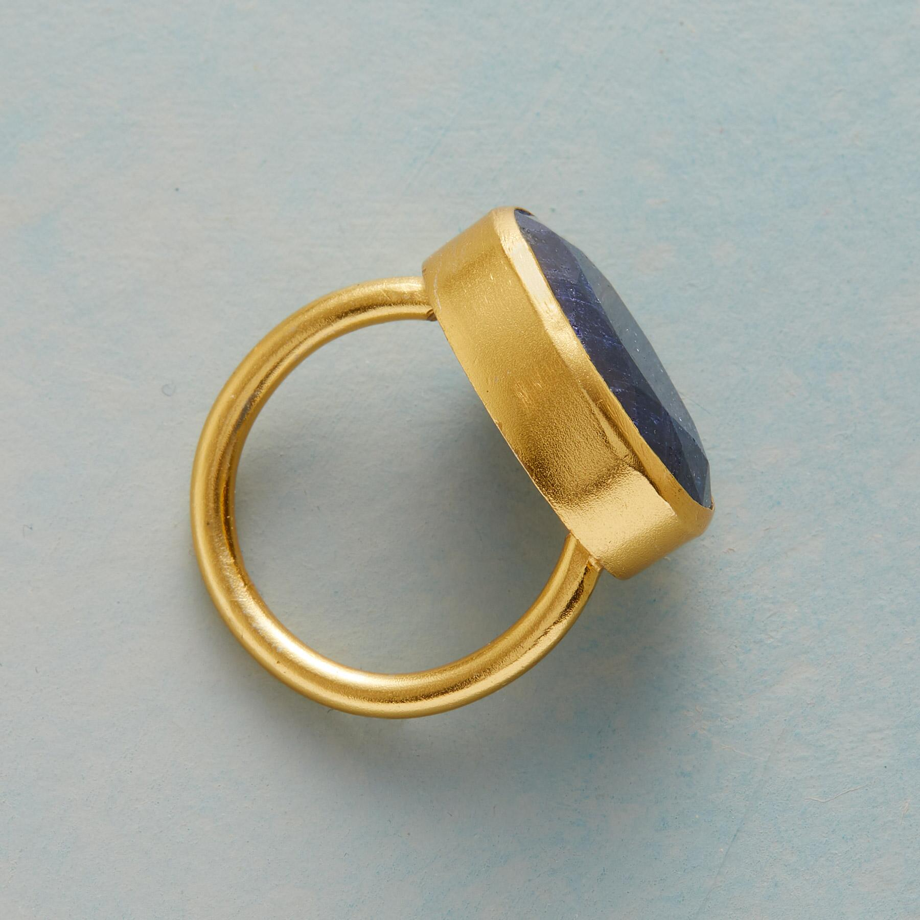 LIVE DEEPLY SAPPHIRE RING: View 2