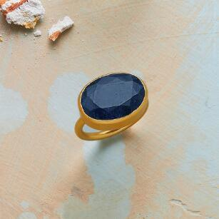 LIVE DEEPLY SAPPHIRE RING