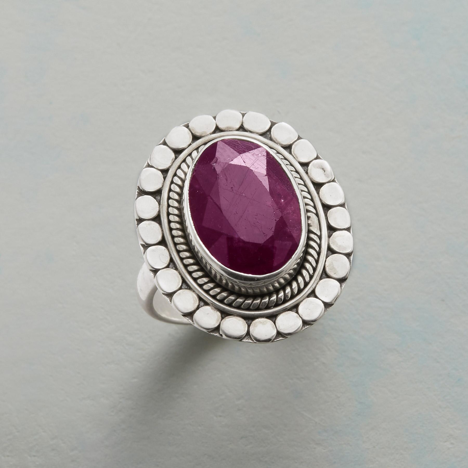 GALLERIA RUBY RING: View 1
