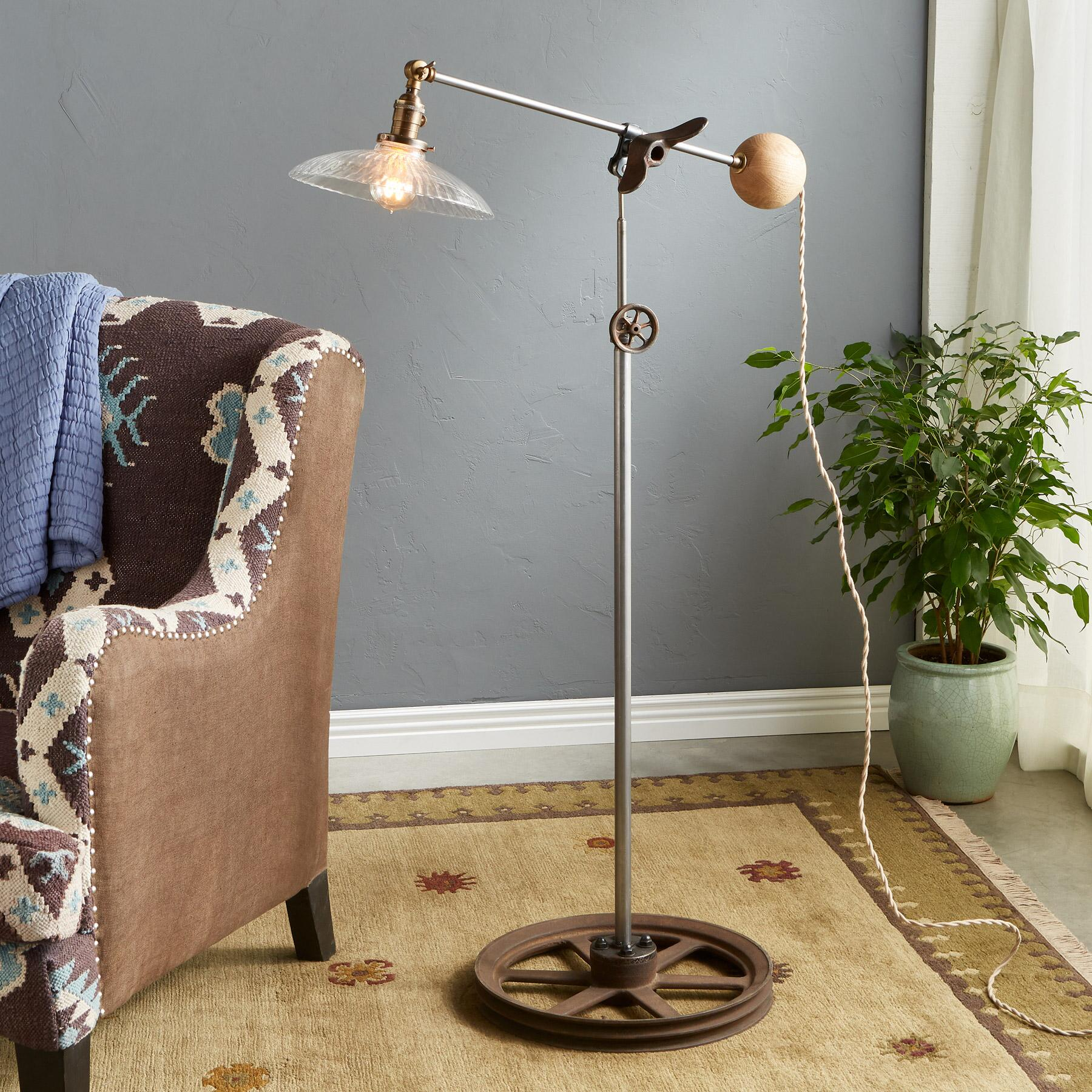 TIE CREEK FLOOR LAMP: View 1