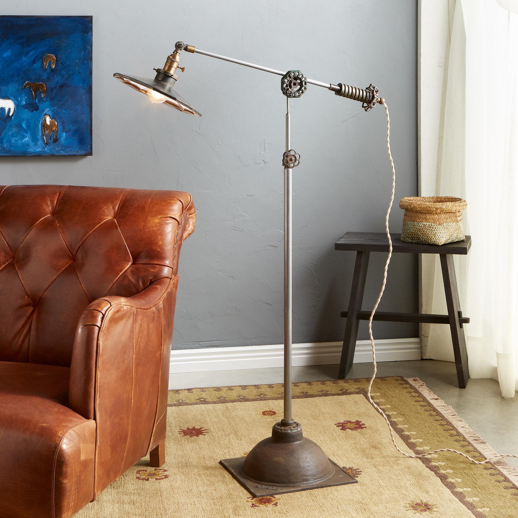 HAYDEN CREEK FLOOR LAMP: View 1