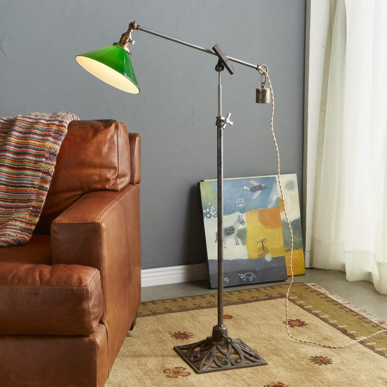 CROOKED CREEK CREEK FLOOR LAMP
