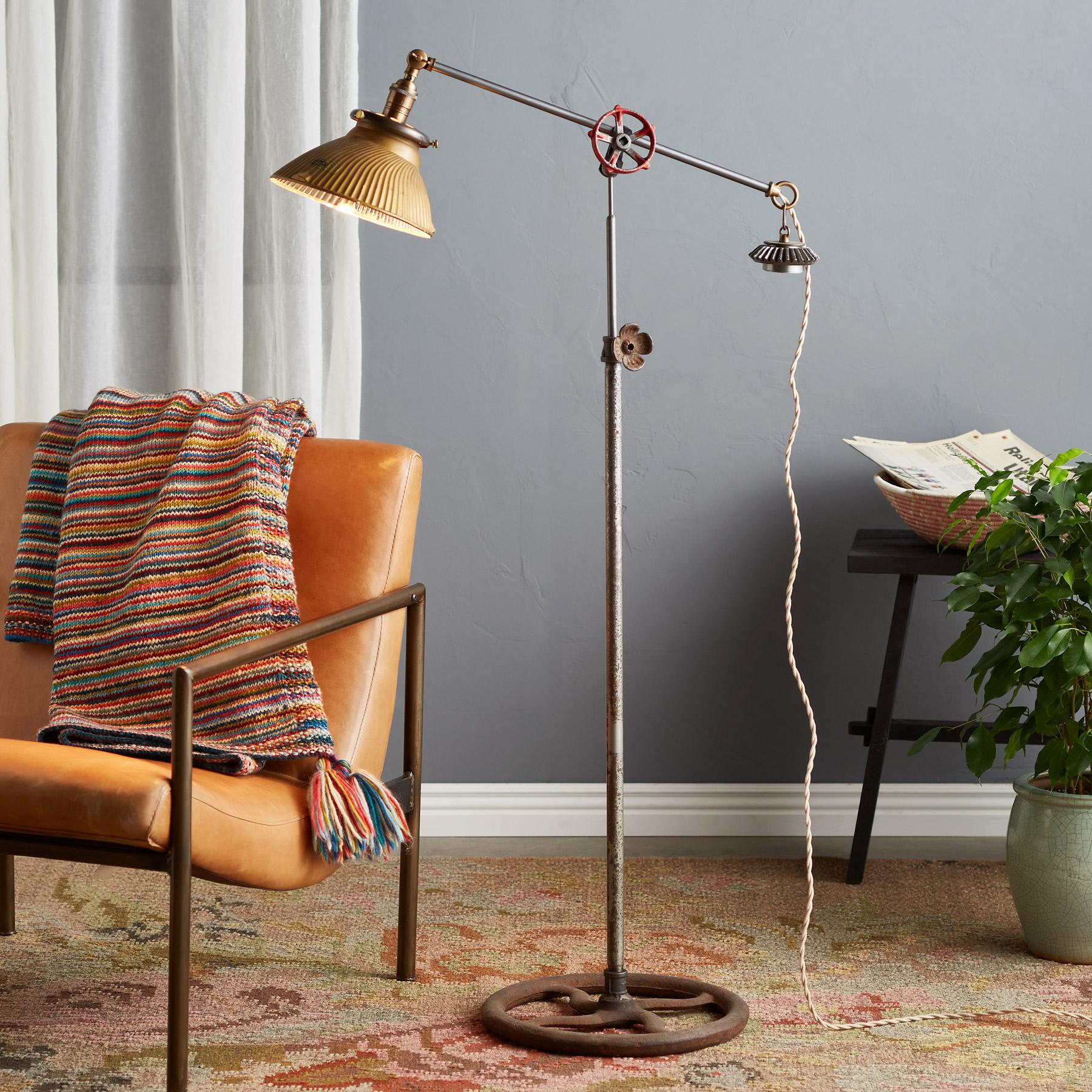 GALLATIN FLOOR LAMP: View 1