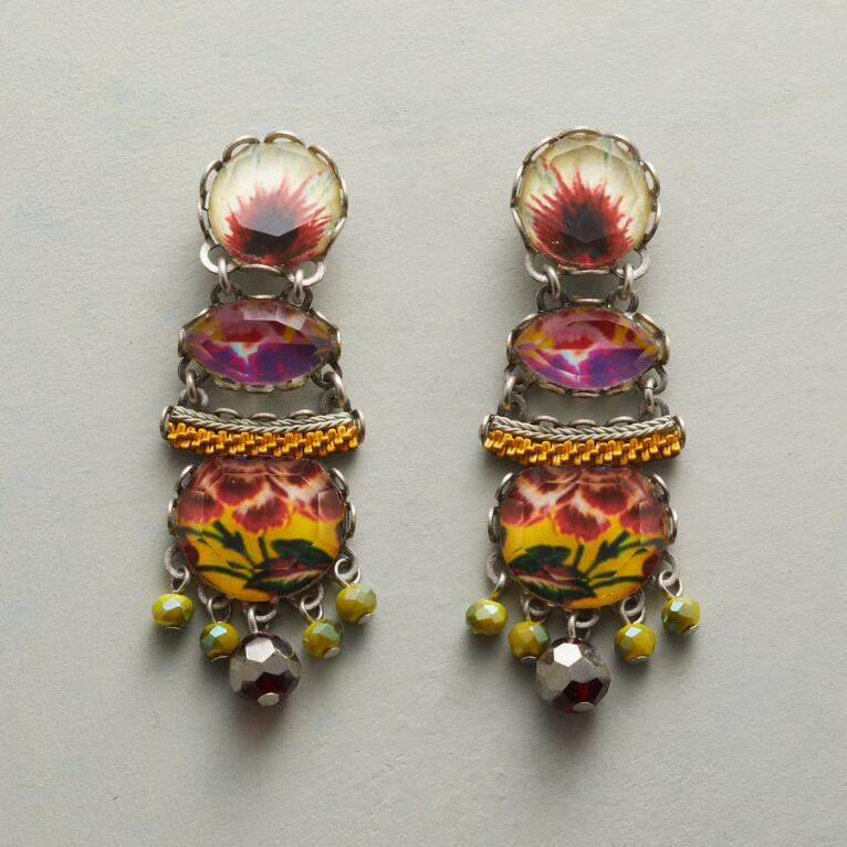 YUCATAN SUNBURST EARRINGS