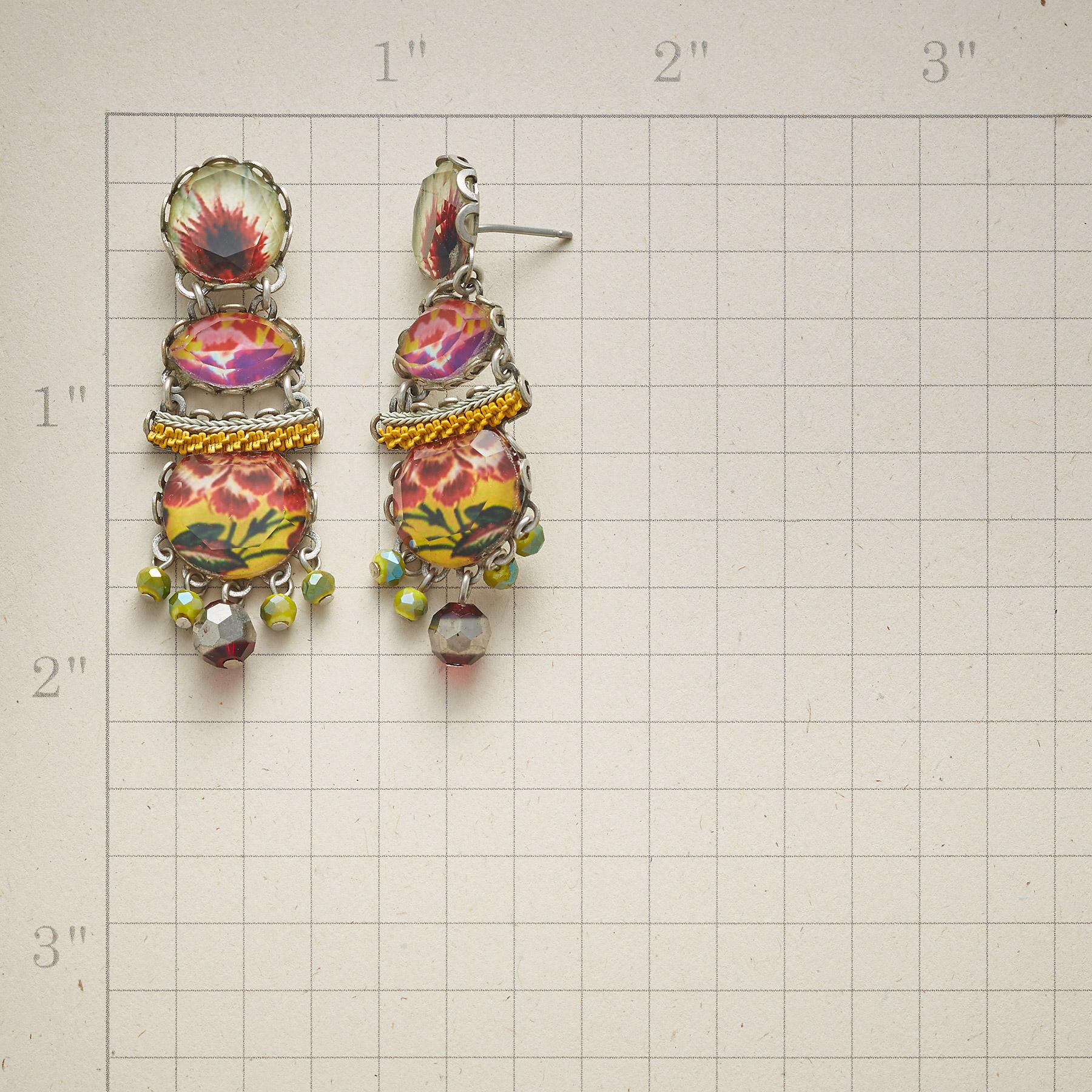 YUCATAN SUNBURST EARRINGS: View 2