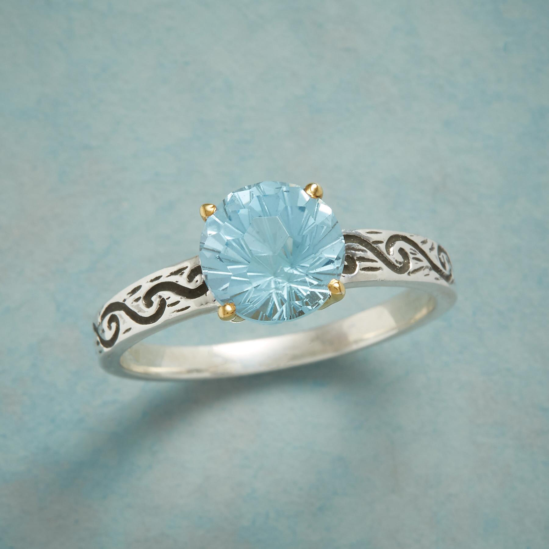 FOREVER FACETS RING: View 1