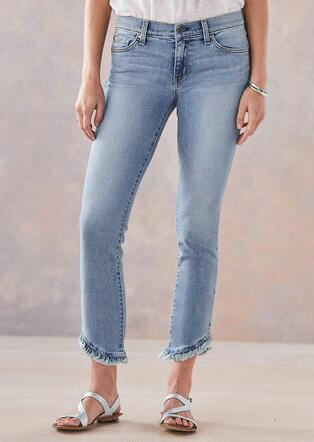 HONOR RUFFLED JEANS