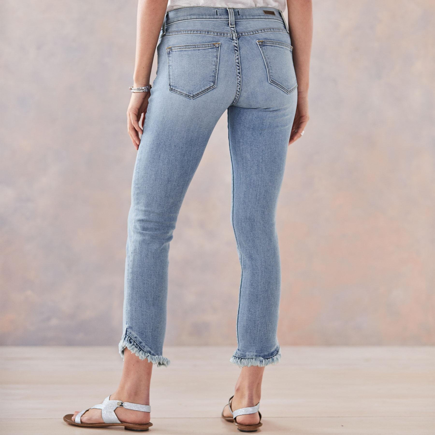 HONOR RUFFLED JEANS: View 2