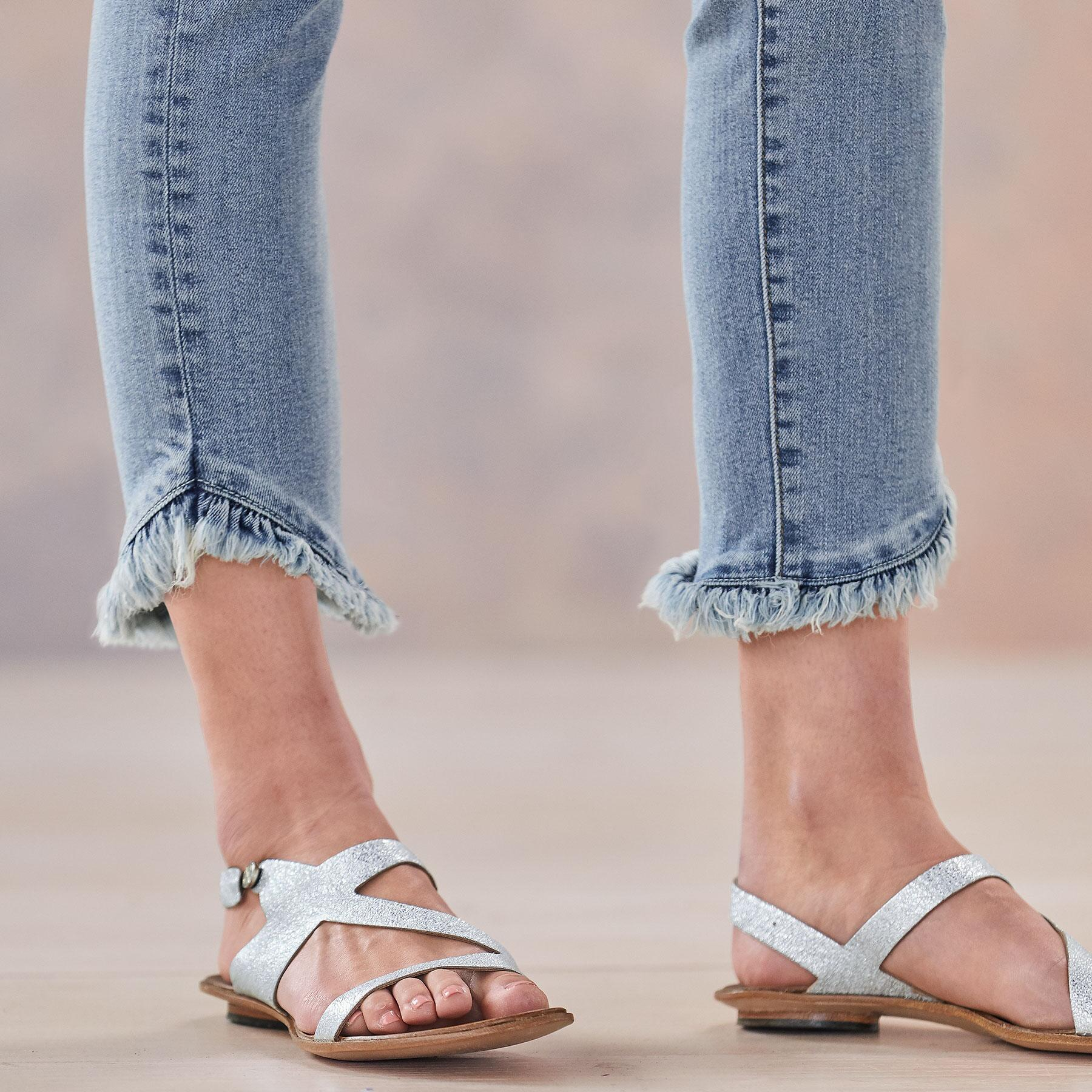 HONOR RUFFLED JEANS: View 5