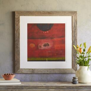 MOON OVER BARN PRINT