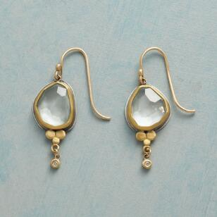 FROSTY AQUAMARINE EARRINGS