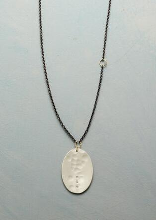 WINTER'S PATH DIAMOND NECKLACE