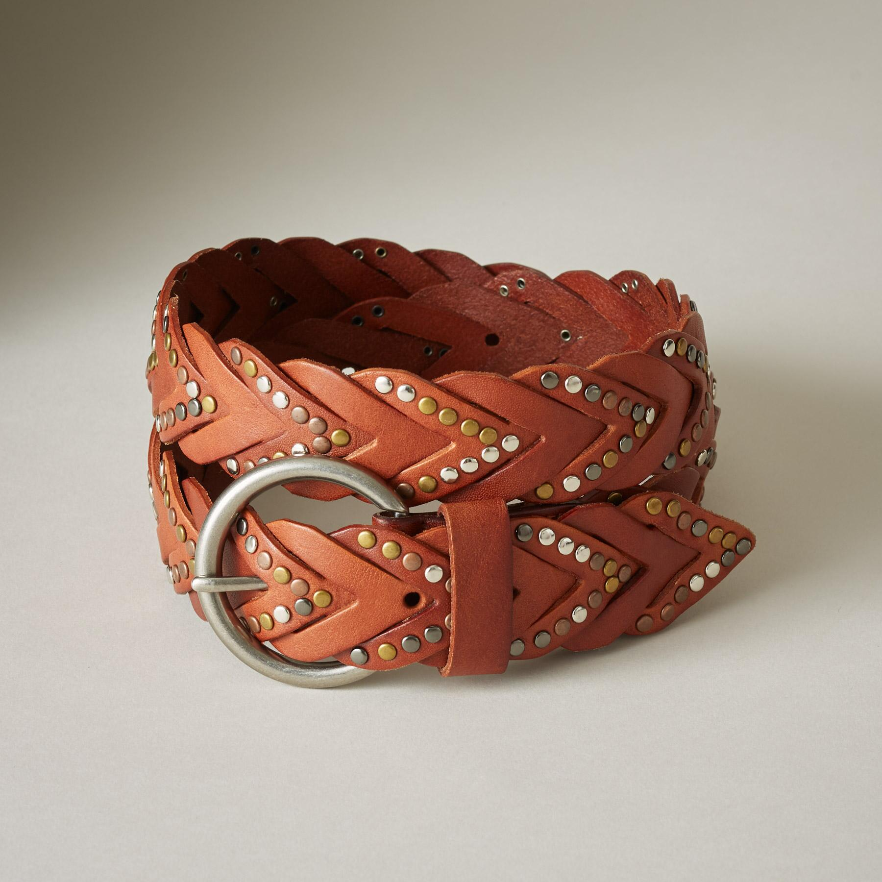 BARRACUDA LEATHER BELT: View 1