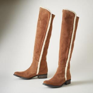 FLEECE SANDRINE BOOTS