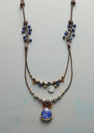 IN LOVE WITH LAPIS NECKLACE