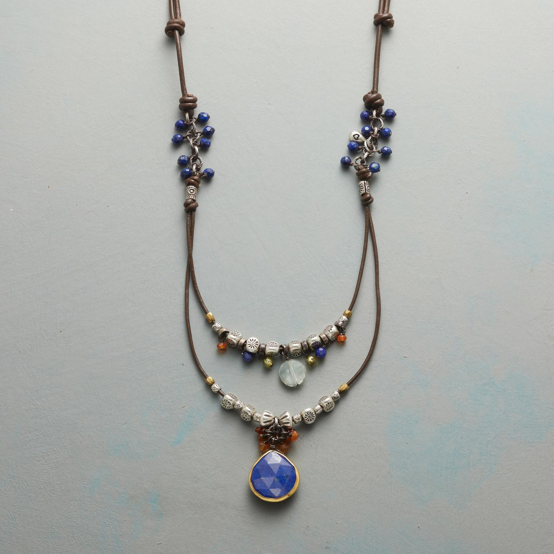 IN LOVE WITH LAPIS NECKLACE: View 1