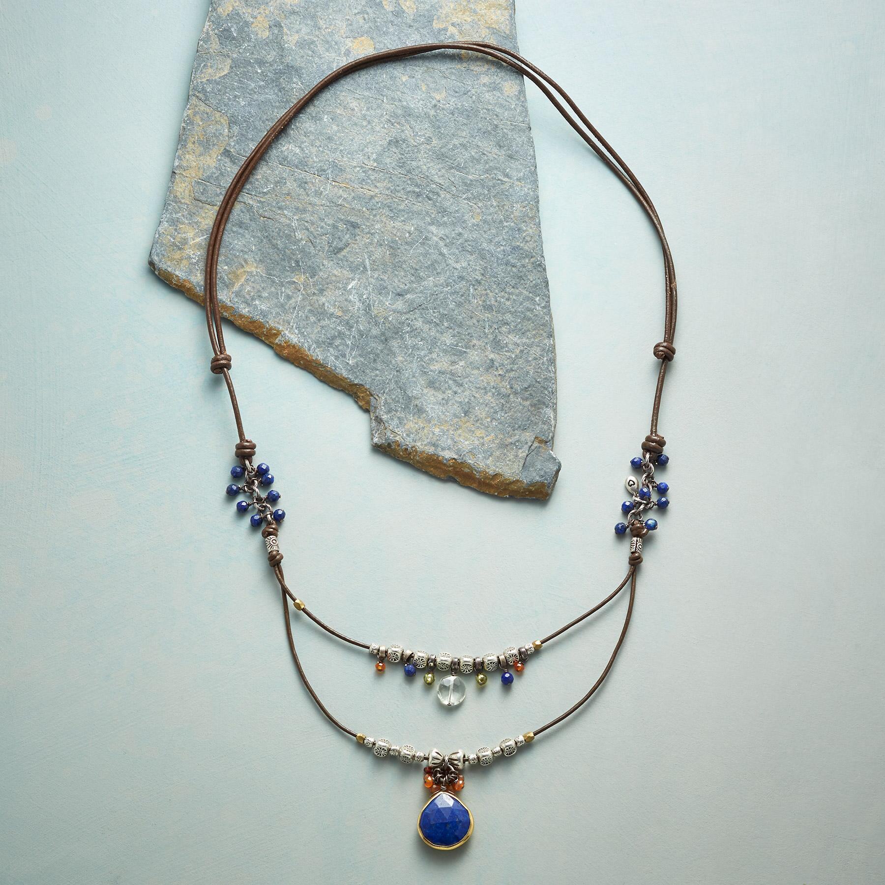 IN LOVE WITH LAPIS NECKLACE: View 2