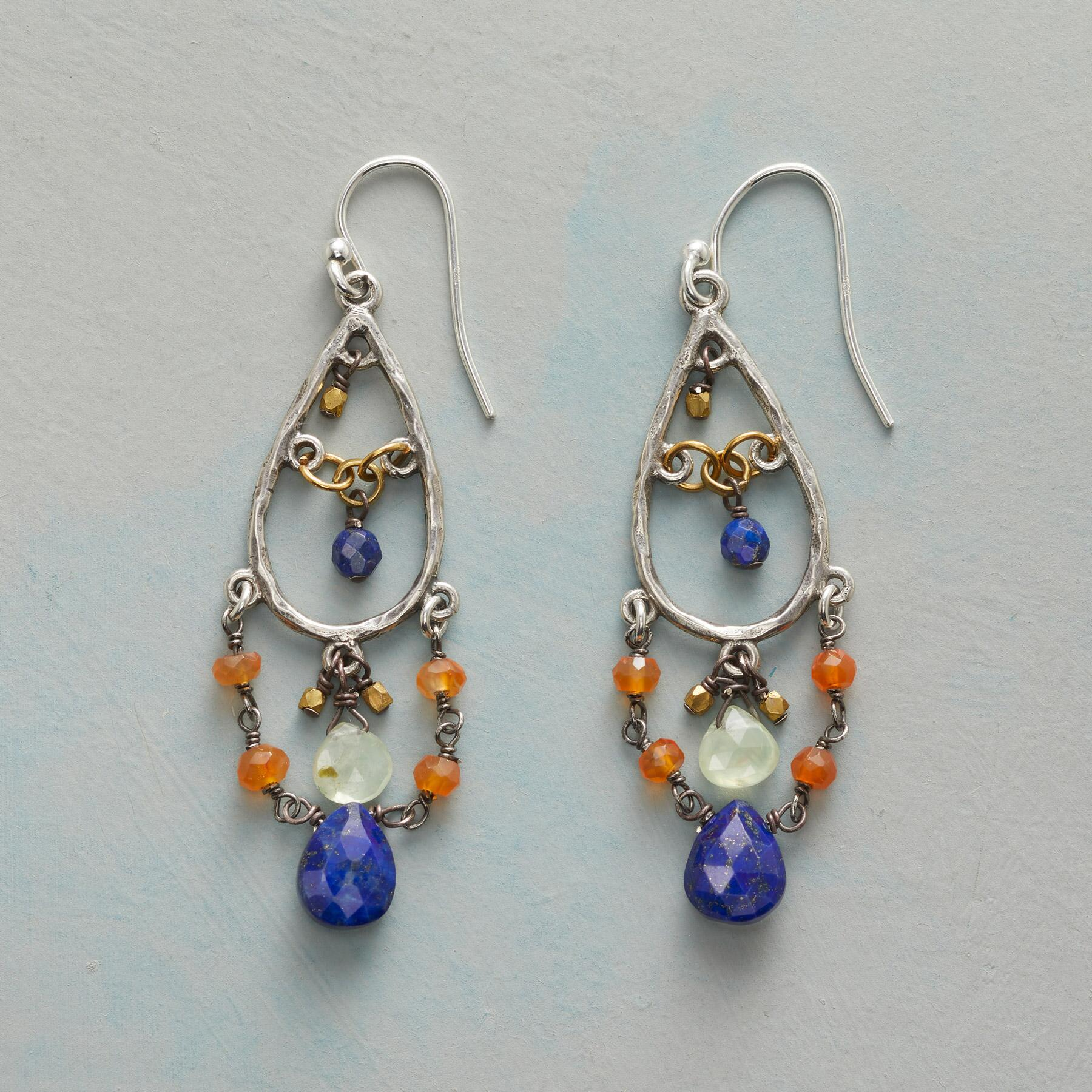 CASCADE OF ODES EARRINGS: View 1