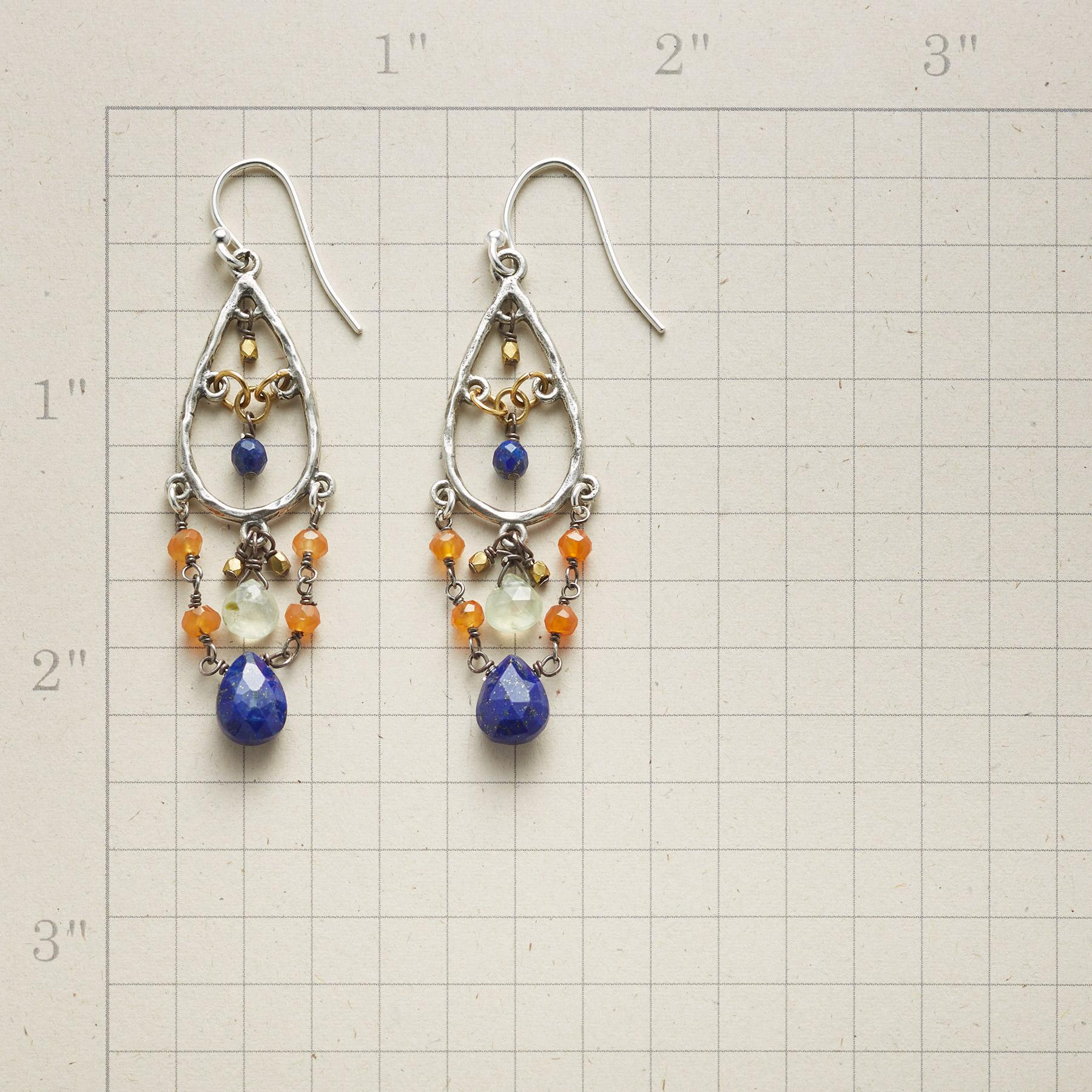 CASCADE OF ODES EARRINGS: View 2