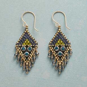 BLAZE BLUE EARRINGS