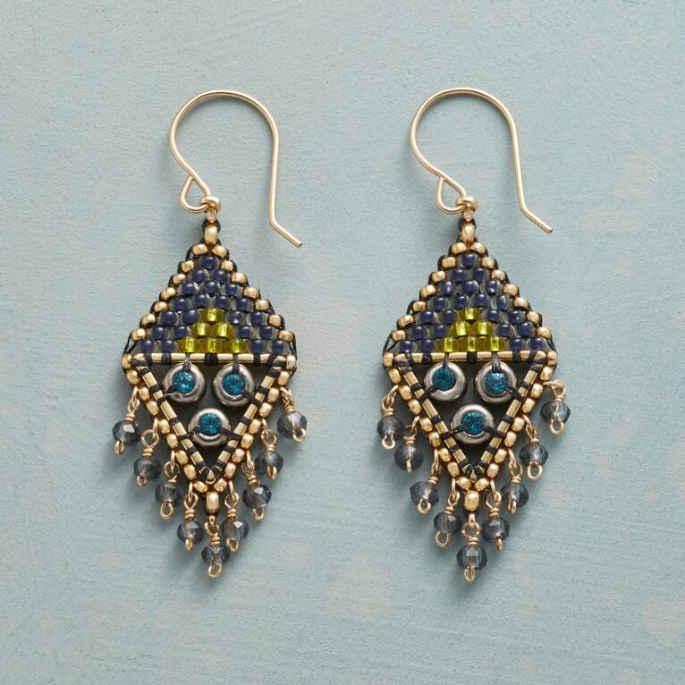 BLAZE BLUE EARRINGS