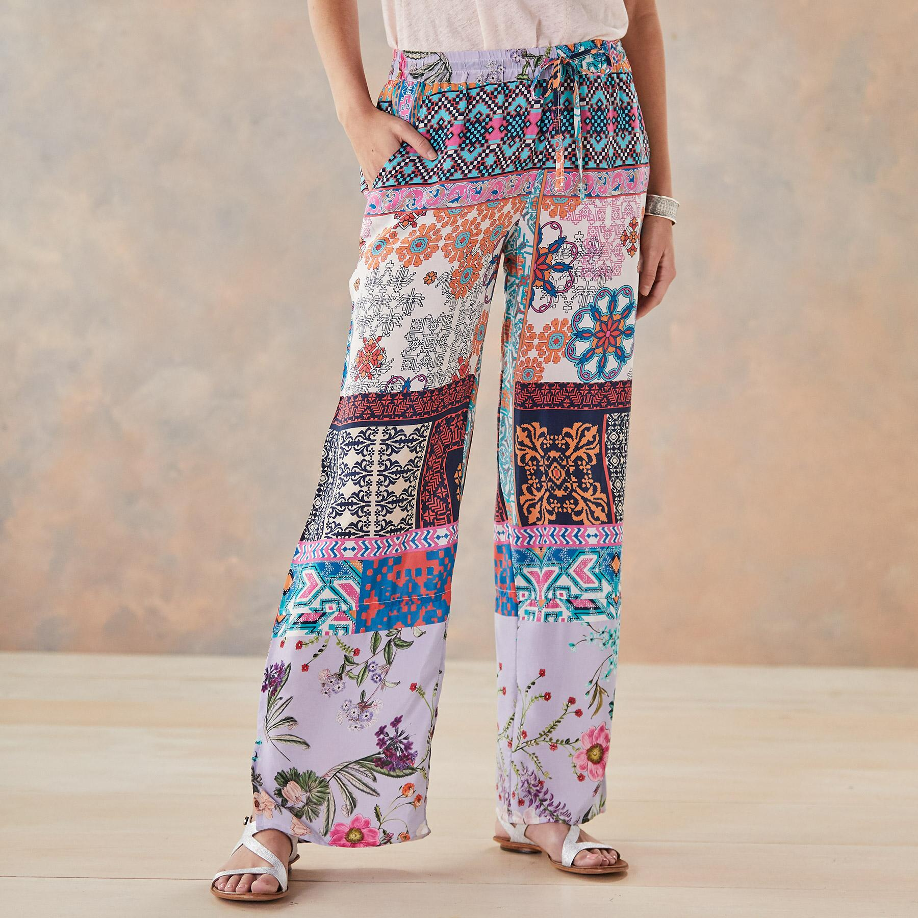 PALACE OF THE SUN PANTS: View 1