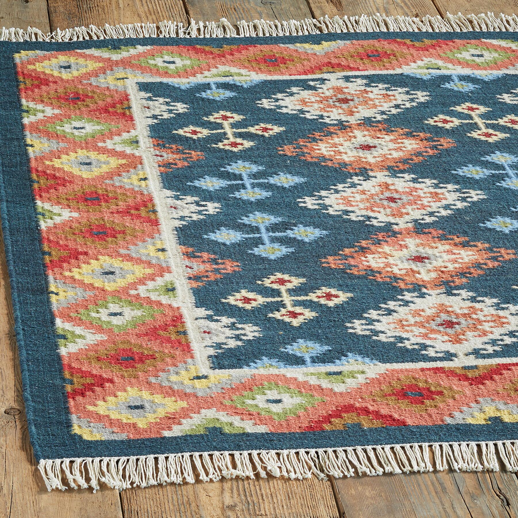 CASCADE SPRINGS KILIM RUG, LARGE: View 2