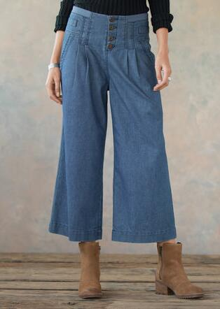 BETHANY CROP PANTS