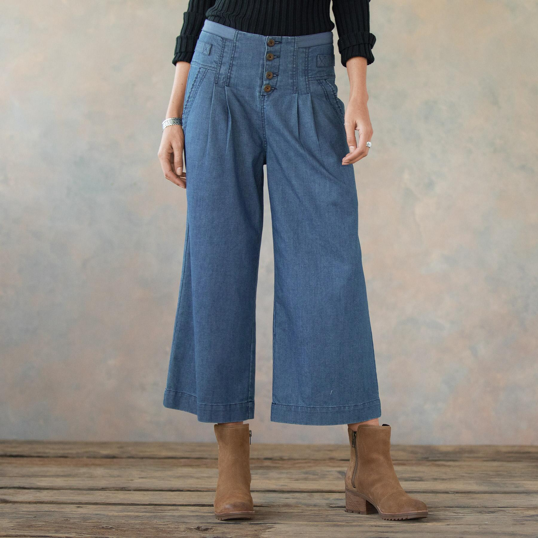 BETHANY CROP PANT: View 1