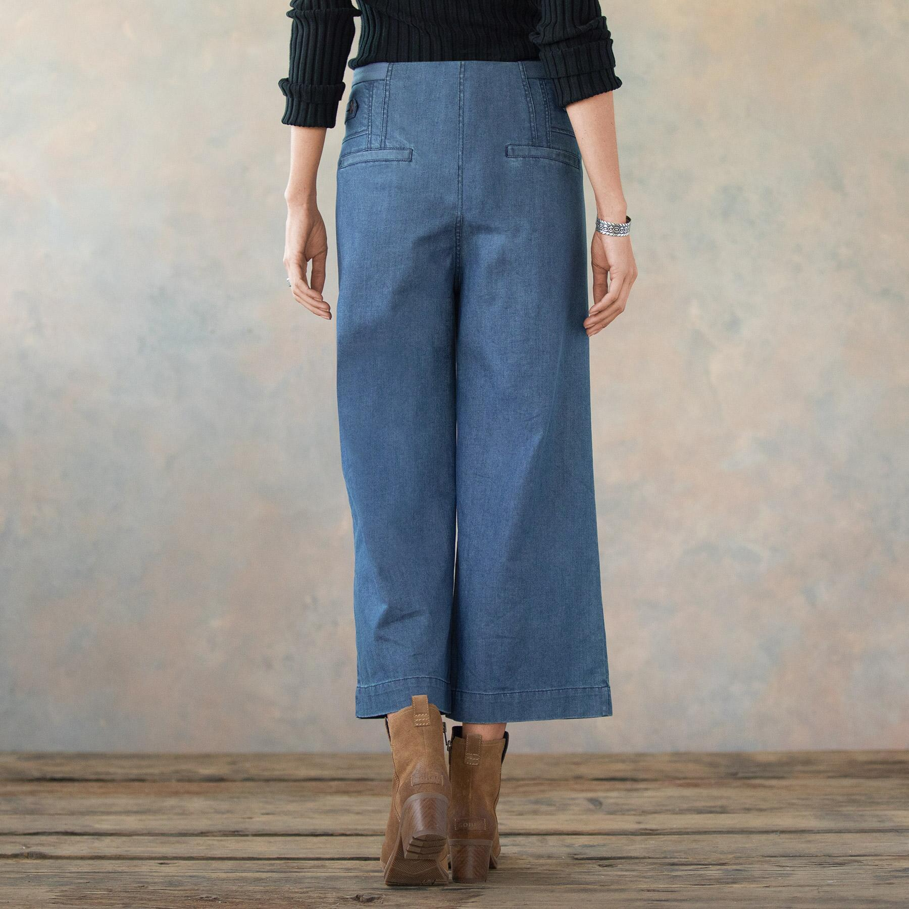 BETHANY CROP PANT: View 2