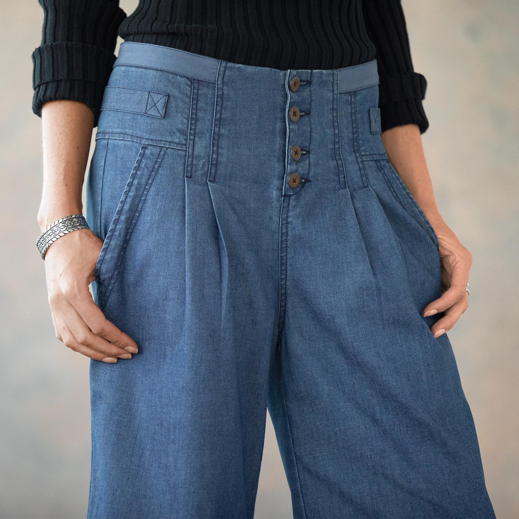 BETHANY CROP PANT PETITE: View 3
